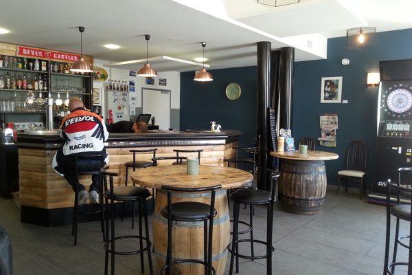 café restaurant après travaux